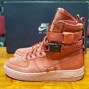 premium selection f463c 280c1 Nike Shoes - Nike SF AF1 Womens Dusty Peach Air Force 1 One New